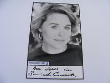 SINEAD CUSACK Signed Photo Autograph TV Stage Actress V for Vendetta