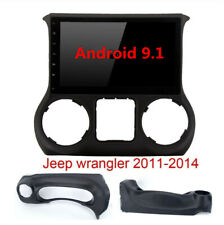 """10.1"""" Android 9.1 Radio Touch Screen 2GB+32GB For Jeep Wrangler 11-14 Stereo GPS"""