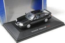 1:43 UH Universal Hobbies Renault Alpine V6 Turbo Coupe black