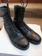 SAFETY FIRST SHOE CO WORK MILITARY STEEL TOE FLYER'S BOOTS USA SZ 10 REGULAR 10R