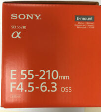Sony SEL55210 E 55-210mm F4.5-6.3 OSS E-Mount for Sony NEX (APS-C)