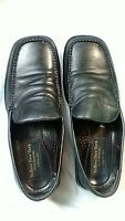 TO BOOT NEW YORK Adam Derrick Black Leather Loafers Men's Size 10 Made in Italy