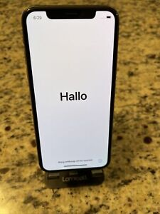 Apple iPhoneX 64GB Silver A1865 (CDMA+GSM) *Factory Unlocked Excellent Condition