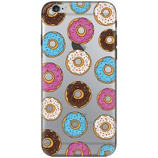 TPU Silicone Donut iPhone Case Cover For iPhone 6&6s UK Stock