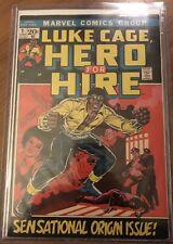 HERO FOR HIRE 1 7.0/8/9.0? LUKE CAGE MARVEL COMICS POWER MAN MCU KEY CGC WORTHY?