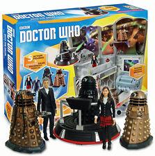 12th in Doctor Who Dalek 6 Action Figure Gioco Set Peter Capaldi SCATOLA DANNEGGIATA