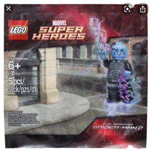 LEGO Marvel Superheroes Electro Polybag (NEW); 5002125; Amazing Spider-Man; Rare