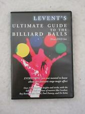 LEVENT'S ULTIMATE GUIDE TO THE BILLIARD BALLS 3 DVD Set 2009 Magic Trick