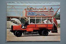 R&L Modern Postcard: National Motor Museum B Type London Omnibus