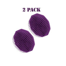 Scalpmaster Shampoo Brush Purple 2 Pack
