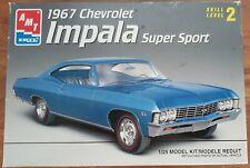 AMT 1967 Chevrolet Impala SS 1/25