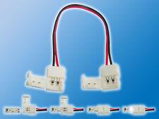 4x 10mm LED Verbindungskabel Klemmverbinder a. Klemmverbinder | Schnellverbinder