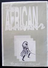 African Dancer Stationery Writing Pad Images Kanaga Mask Dance of Intore Rwanda