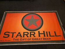 Starr Hill Brewing Craft beer Banner / Sign (61x37) Breweriana Man Cave Virginia