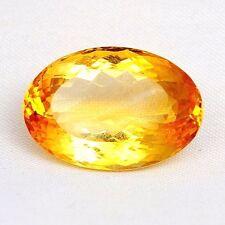 TOP MADEIRA CITRINE : 23,03 Ct Natürliche Gold Orange Citrin aus Brasilien