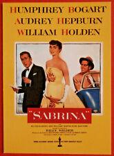 Movie Posters #2 - Card #20 - Audrey Hepburn, Humphrey Bogart - Sabrina (1954)
