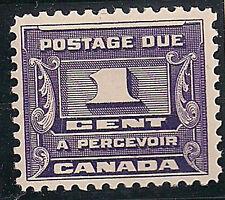 CANADA UNUSED J11      MH    Single as shown       (M726)