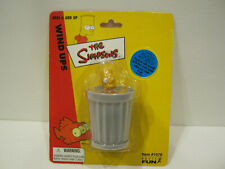BART SIMPSON IN TRASH CAN - THE SIMPSONS WIND-UP TOY 2002 BRAND NEW ON CARD!