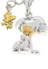 New[Sunupi] Snoopy Full-Type Limited Ver. Sunupi Woodstock Silva 925 Necklace Po