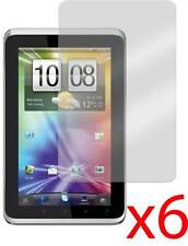 "Hellfire Trading 6x HTC Flyer 7"" LCD Screen Protector Cover Guard & Cloth"