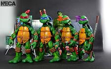 """NIW 4 PCS  NECA Teenage Mutant Ninja Turtles TMNT 15cm Action Figure Toy 6"""""""
