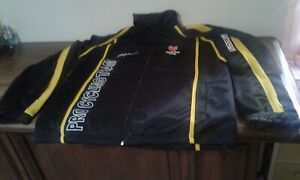 GIACCA JACKET CICLISMO PRO CYCLING TEAM SAUNIER DUVAL SCOTT BLACK YELLOW