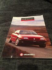1991 Vauxhall Astra UK Car Brochure