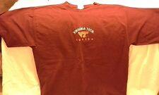 Virginia Tech mens burgundy t-shirt size Xl basketball Team Edition Apparel