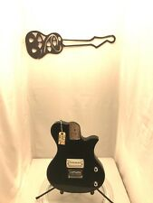 #5543 First Act ME537 Electric Guitar Loaded Black Project Body Tested Working