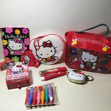 Vintage 1991 Sanrio Hello Kitty Stationery and Bath Set