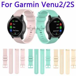 Band Bracelet Strap Silicone Replacement For Garmin Venu 2 2S / Vivoactive 4 4S