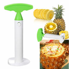 Pineapple Fruit Peeler Slicer Corer Cutter Ring Utensil Kitchen Easy Use Tool