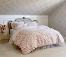 Simply Shabby Chic Tan Pink Duchess Blossom ~ Full/Queen ~ Duvet Cover Set Flora