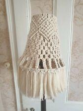 Handmade Macrame Lampshade