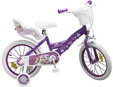Kinderfahrrad Disney Prinzessin Sofia 16 Zoll Kinder Mädchen Fahrrad Puppensitz