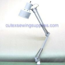 INDUSTRIAL SEWING MACHINE TABLE CLAMP ON WORKING LIGHT LAMP