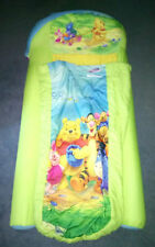 Marshmallow Disney Winnie the Pooh Toddler Inflatable Travel Ready Bed Mattress
