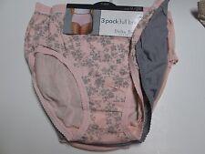 Delta Burke Women's Brief 2X Pink