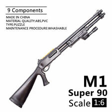 1/6 M1 Super 90 Shot Gun Model Assembling Accessories Weapon For Action Figures