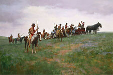 Howard Terpning WHISKEY SMUGGLERS, Sioux, paper giclee ARTIST PROOF AP#19/22