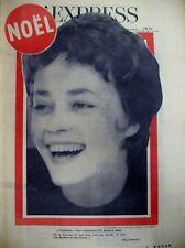 JEANNE MOREAU GIROUD MAURIAC DESSINS TIM SINE EFFEL L'EXPRESS 1959