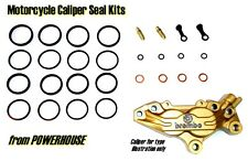 Ducati 998 2002 02 Brembo Goldline front brake caliper seal kit