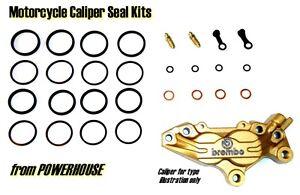 Aprilia RSV 1000 Mille, SP & R  1999 2000 Brembo front brake caliper seal kit