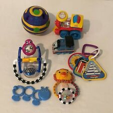 Lot of 7 Baby Toys Rattles Teethers Developmental Play Thomas Train Stroller Toy