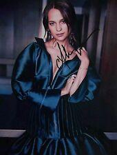 SALE Alicia Vikander Signed Autograph Photo Danish Girl Lara Croft Tomb Raider