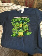 Ninja turtle tshirt size large new with tags