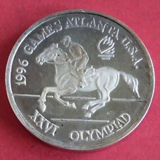 More details for romania 1996 equestrian olympic games 100 lei silver proof pattern