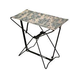Folding Camp Stool ACU Digital Camouflage Rothco 4545 Brand New
