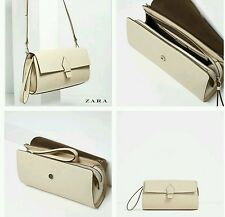 ZARA CLUTCH WITH PULL TAB REF. 4390/104 NWT!!!