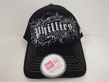 New Era MLB Philadelphia Phillies Womens Black/Silver Sparkle Adjustable CapNWOT